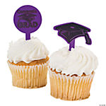 "Purple ""Congrats Grad"" Food Picks"
