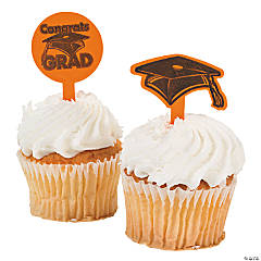 "Orange ""Congrats Grad"" Food Picks"