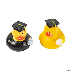 Vinyl Graduation Rubber Duckies