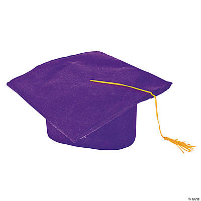 Child's Graduation Caps - Purple