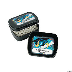 Personalized Graduation Tins with Mints
