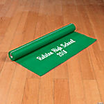 Personalized Green Graduation Aisle Runner
