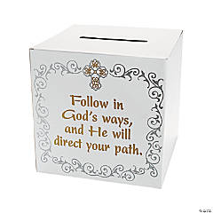 Inspirational Graduation Card Box