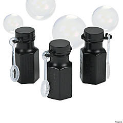 Mini Hexagon Black Bubble Bottles
