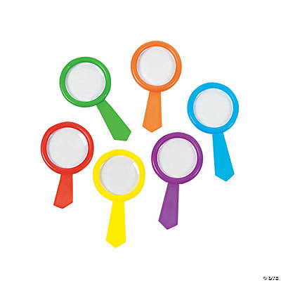 Colorful Magnifying Glasses