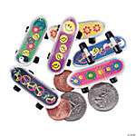 Plastic '60s Mini Skateboards