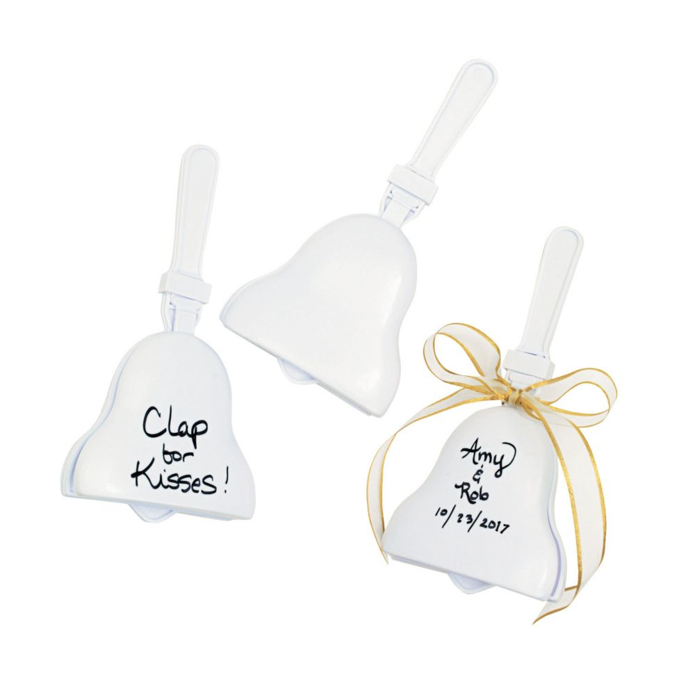 Wedding Bell Clappers - Novelty Toys & Noisemakers