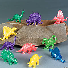 Vinyl Pearlized Squishy Dinosaurs
