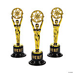 Movie Buff Gold Trophies