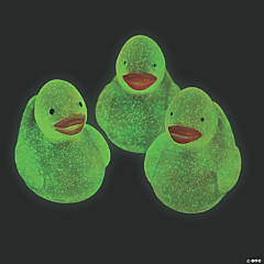 Mini Glow-in-the-Dark Rubber Duckies