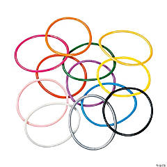 Vinyl Bright Jelly Bracelet Assortment