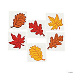 Leaf Glitter Tattoos