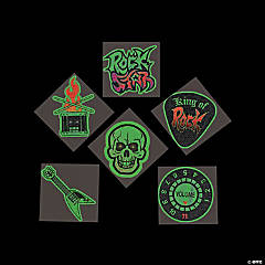 Rock Star Glow-in-the-Dark Tattoos