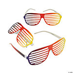 Rainbow Shutter Shading Glasses