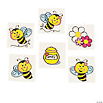 72 Bee Party Tattoos