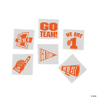 Go Team Tattoos - Orange
