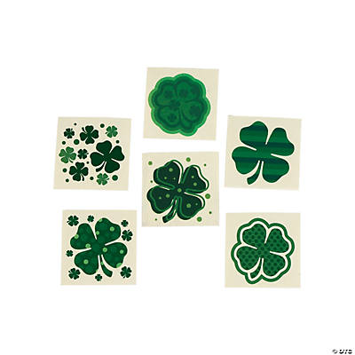 Shamrock Patterned Tattoos