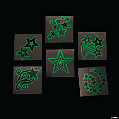 Glow-in-the-Dark Star Tattoos