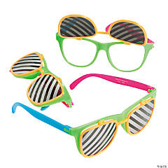 Two-Tone Flip Lens Kiddie Sunglasses