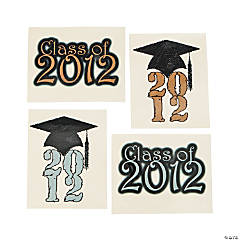 "Large ""Class Of 2012"" Tattoos"