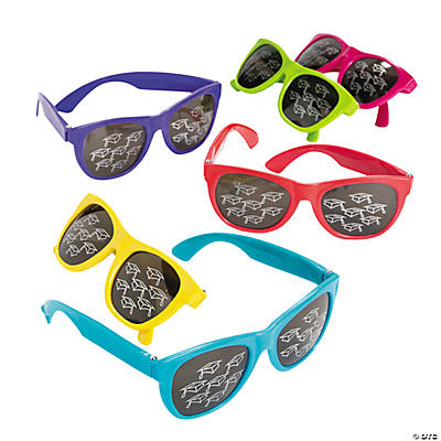 Mirrored Mortar Board Sunglasses