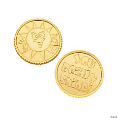 """You Really Shine!"" Gold Coins"