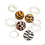 Animal Print Return Balls