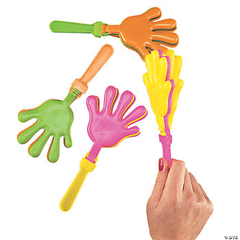 Colorful Hand Clappers