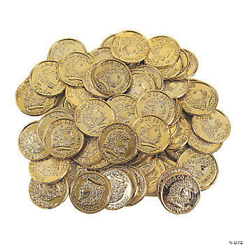Shiny Gold Coins