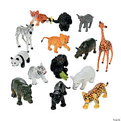 Vinyl Baby Jungle Animals