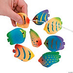 Vinyl Mini Tropical Fish Squirts