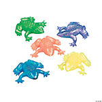 Vinyl Pearlized Squishy Frogs