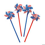 Stars & Stripes Pinwheels