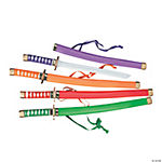 Plastic Samurai Swords