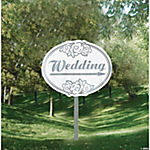 """Wedding"" Yard Sign"