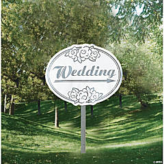 Wedding Yard Sign