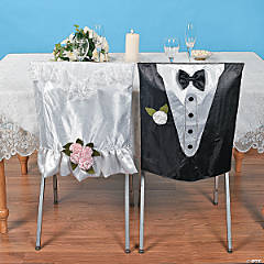 Bride & Groom Chair Covers
