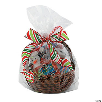 Large Clear Basket Bags