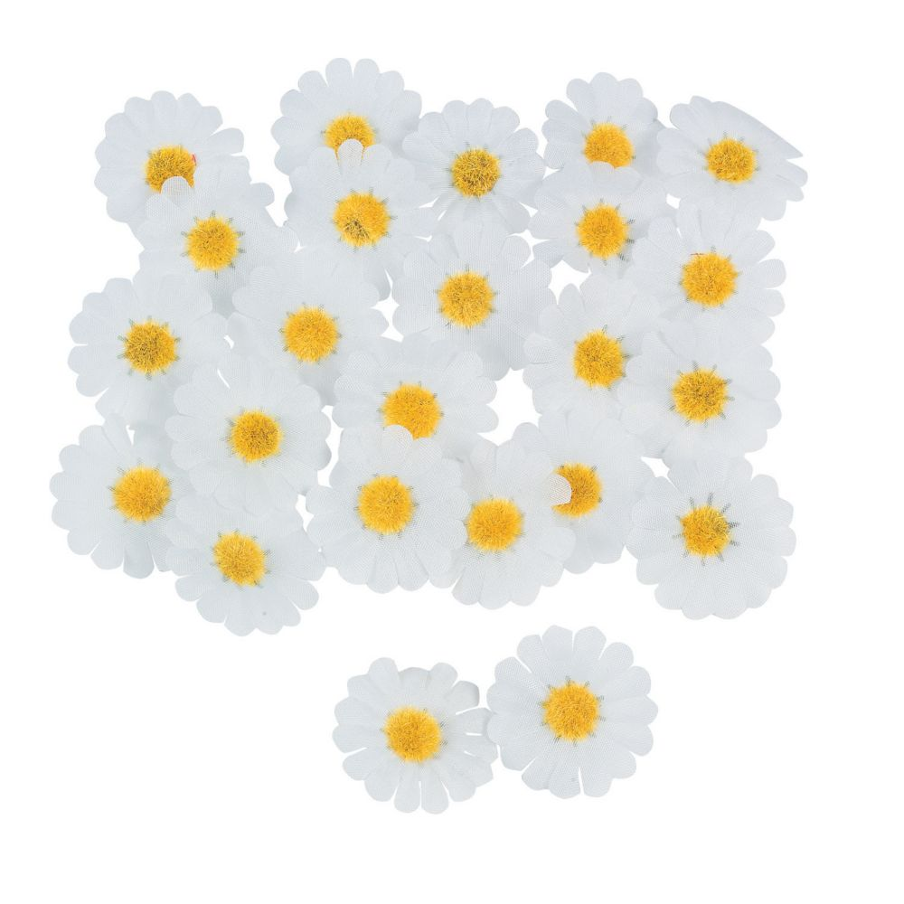 White Daisies - Party Decorations & Confetti