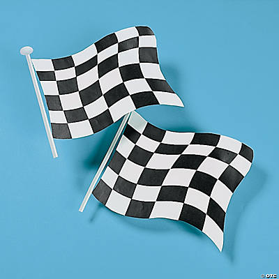Racing Flag Decorations