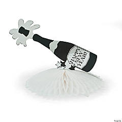Champagne Bottle Centerpiece