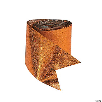 Orange Foil Streamers