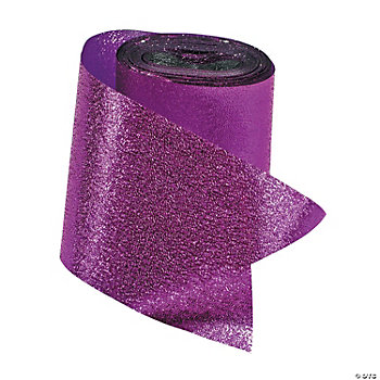 Purple Foil Streamers