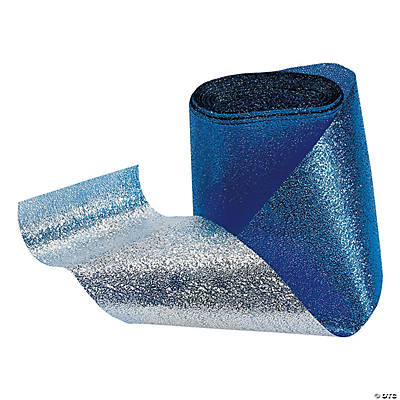 Blue Foil Streamers
