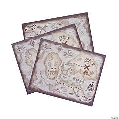 Treasure Map Place Mats
