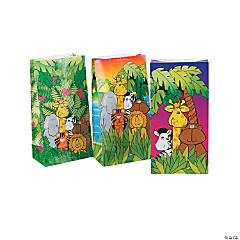 Paper Zoo Animal Bags