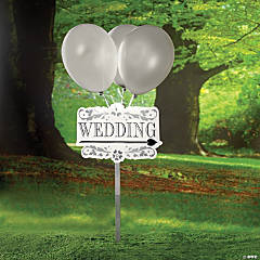 """Wedding"" Yard Signs Kit"