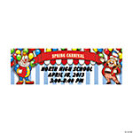 Personalized Big Top Banner - Small