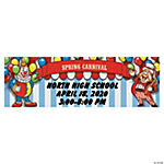 Personalized Big Top Banner - Medium