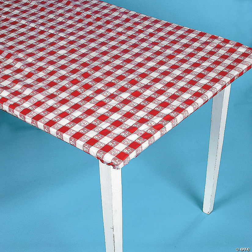 Stay Putu0026#8482; Red Gingham Tablecloth